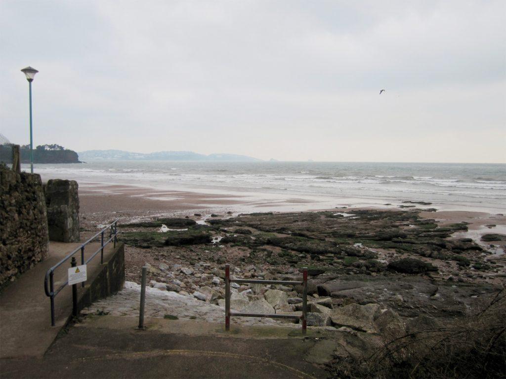 Goodrington Beach in January