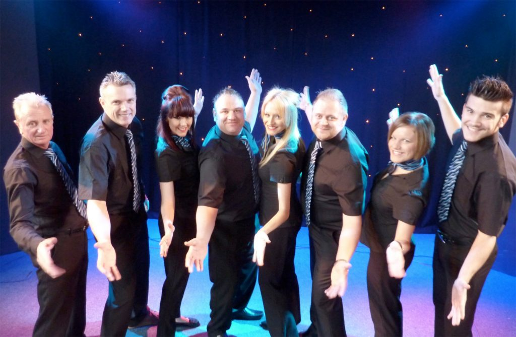 Beverley Holidays Show team & aband