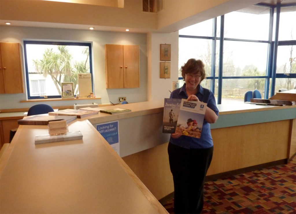 Beverley Holidays new look reception