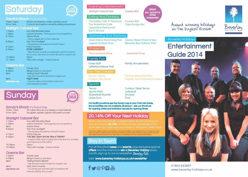 Entertainment Guide 2014