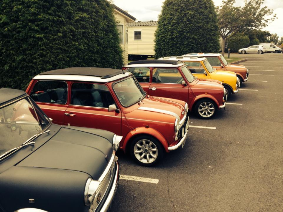 Mini car club visits Beverley Holidays