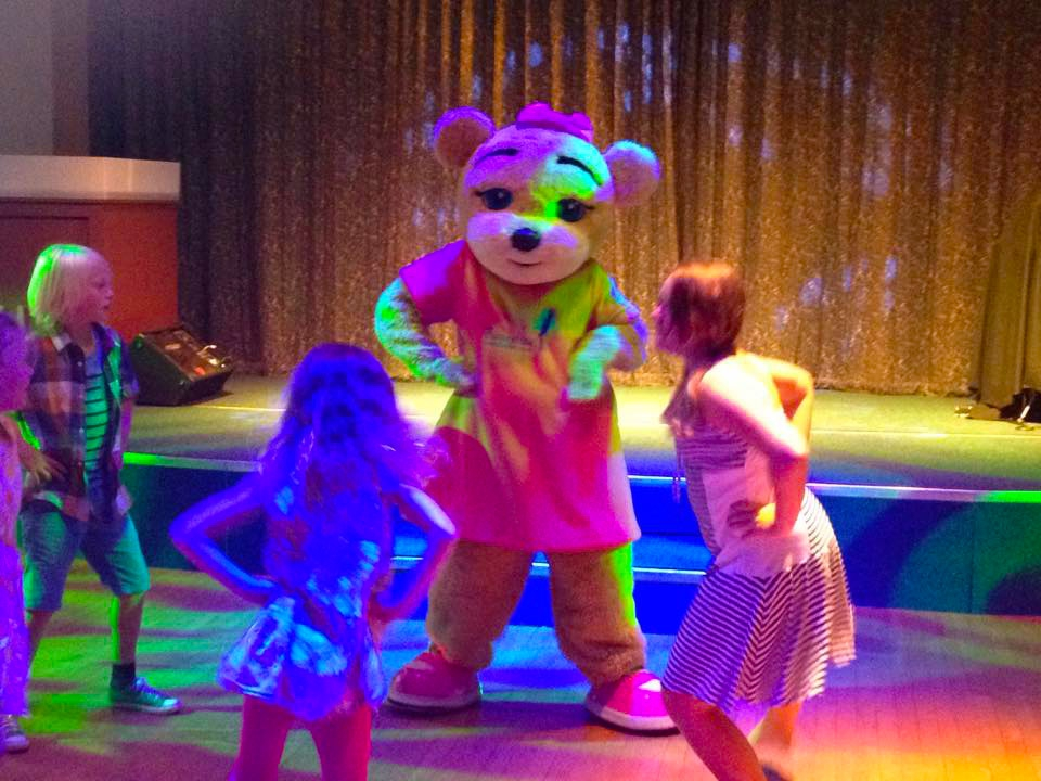 Beverley Bear dancing
