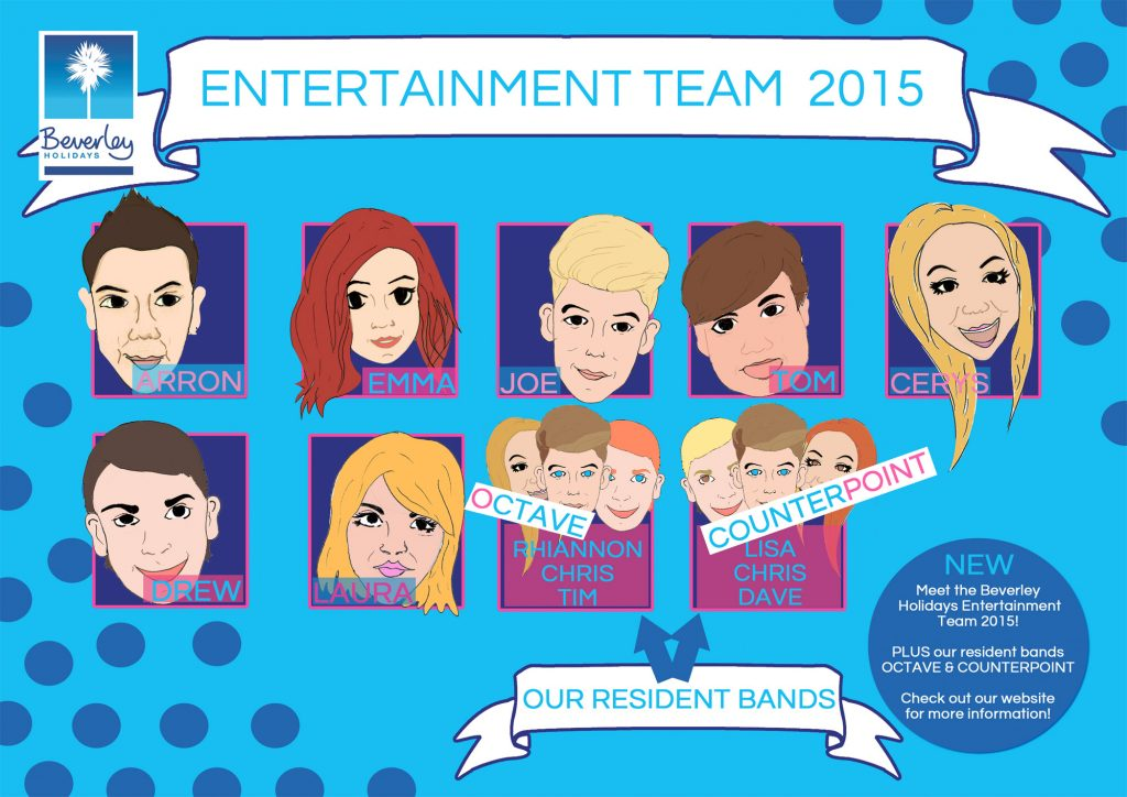 Meet our 2015 Entertainment team