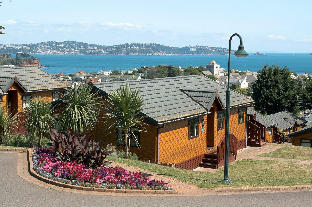Beverley lodge overlooking Torbay