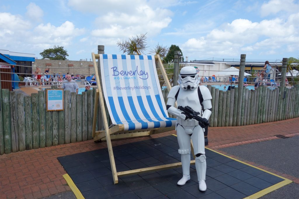 Stormtrooper at Beverley Holidays