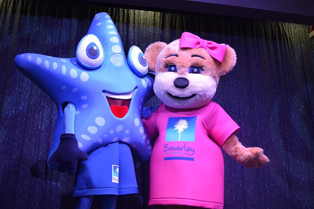 Beverley Holidays mascots
