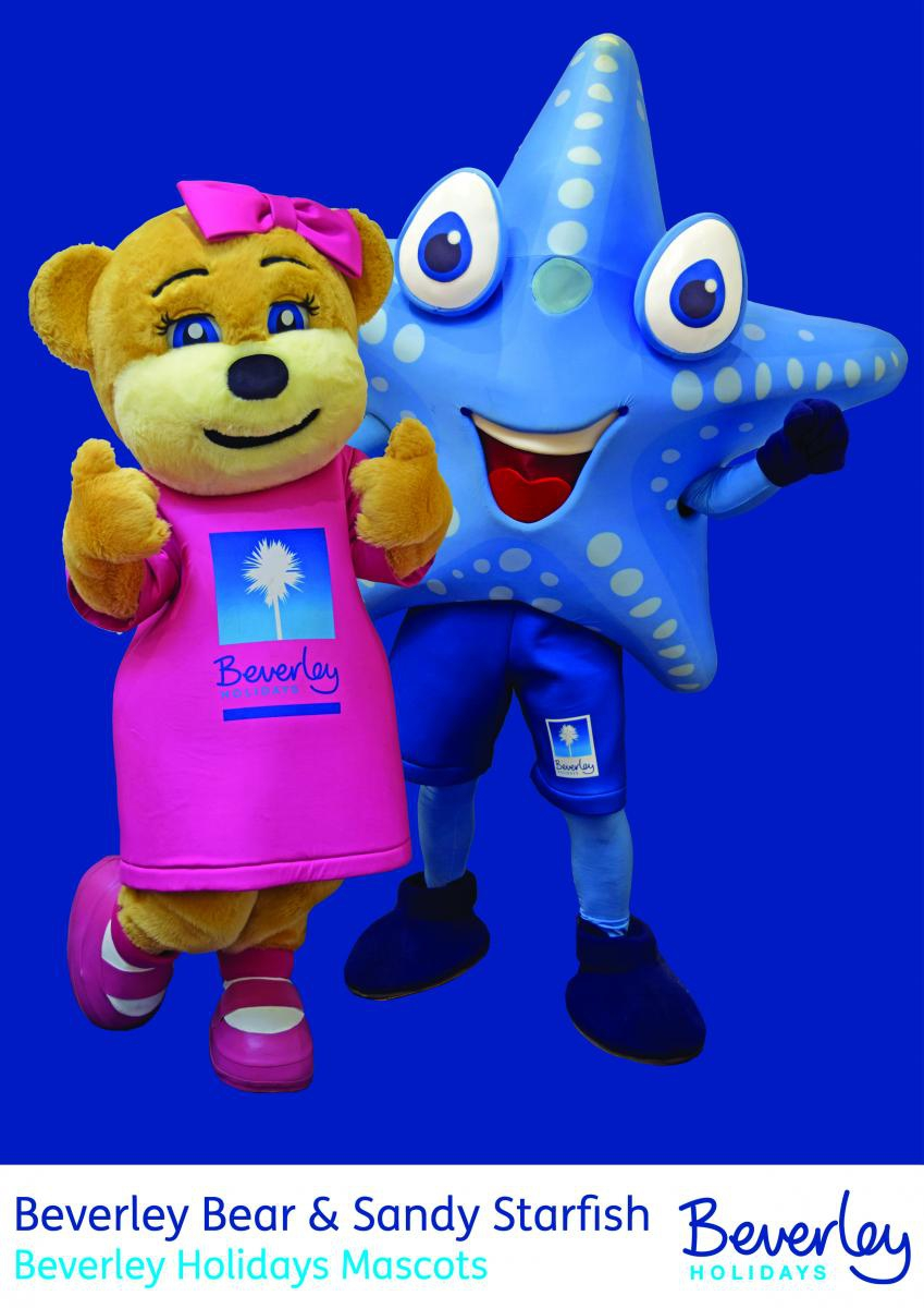 Sandy and Beverley Bear