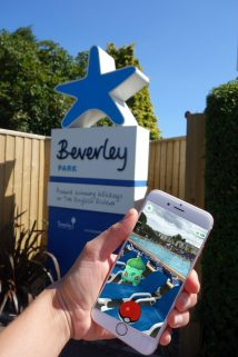 Beverley Holidays Pokemon Go Guided Tours smartphone