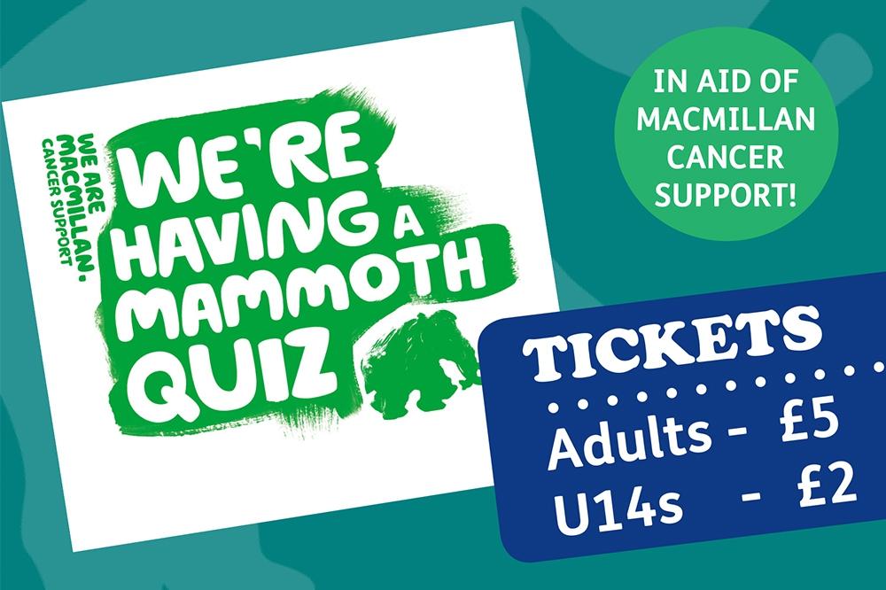 Macmillan Mammoth Quiz