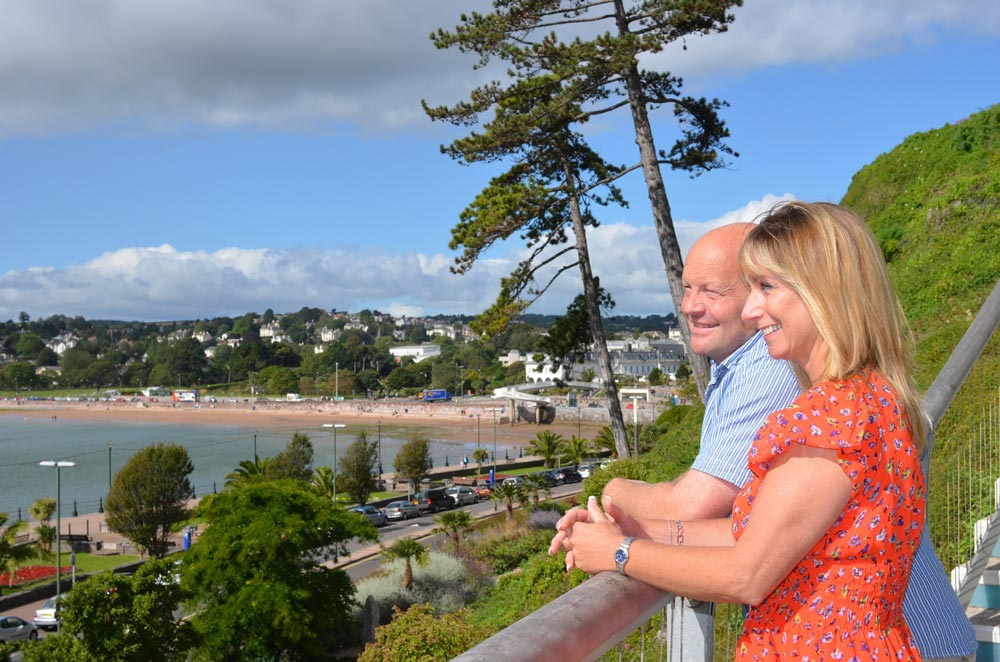 Romantic breaks in Torbay
