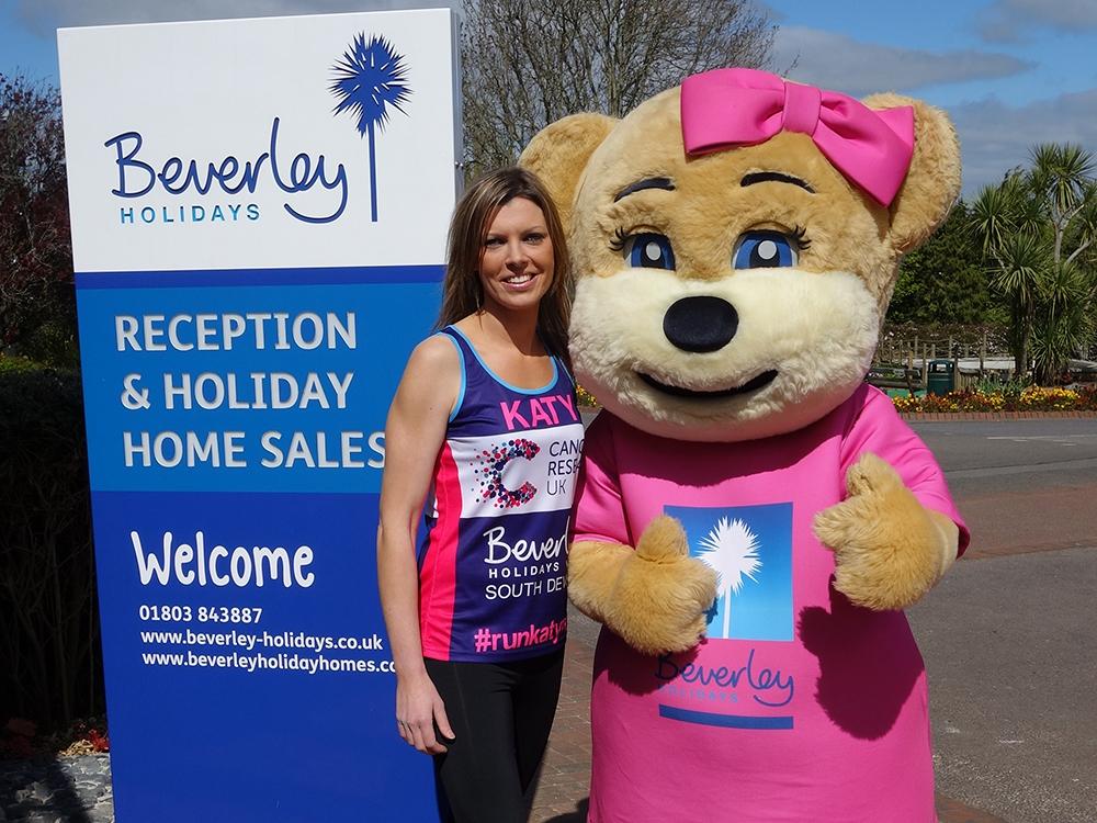Katy Lamsin & Beverley Bear Beverley Holidays