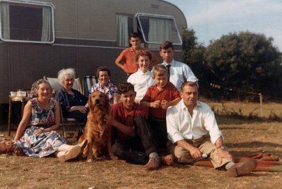 1950s Jeavons Family