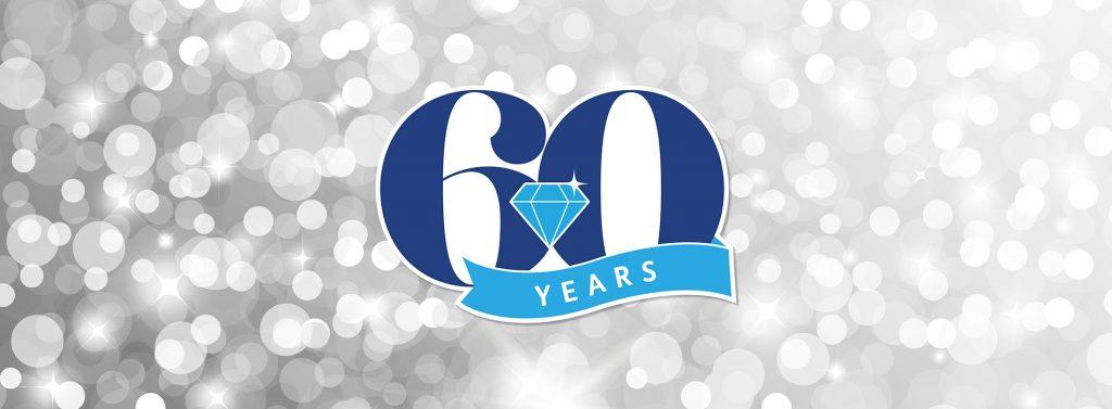 60 year banner