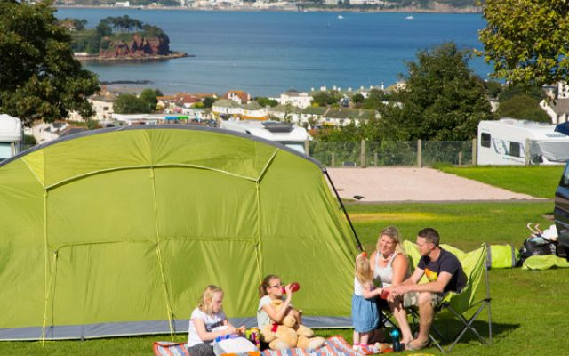 Devon Camping with Seaview