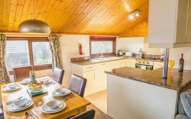 Comfort Lodge Kitchen Area
