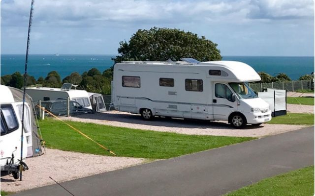 Motorhome holidays at Devon holiday parks
