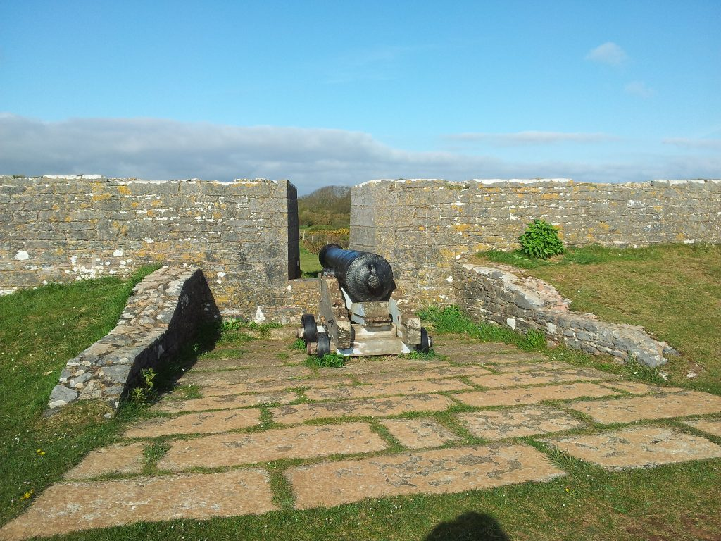Cannon at Berry Head