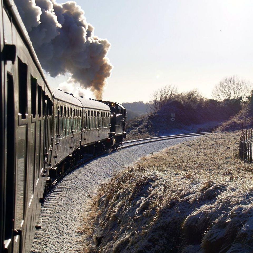 Dartmouth Steam Railway open track