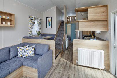 Platinum Loft Caravan lounge