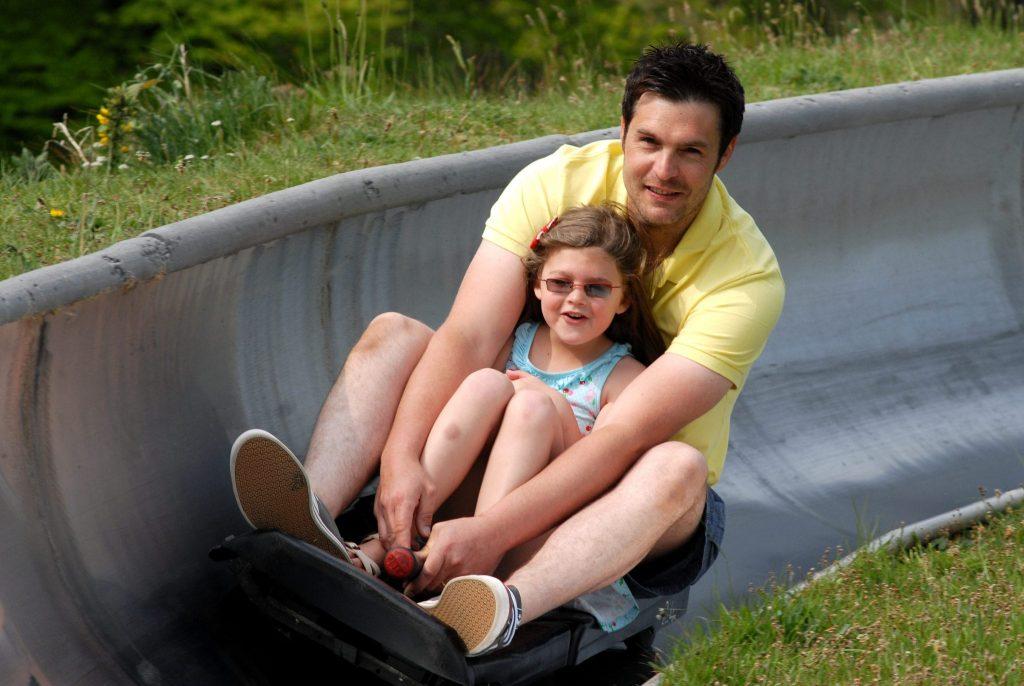 Woodlands Family Theme Park toboggan ride