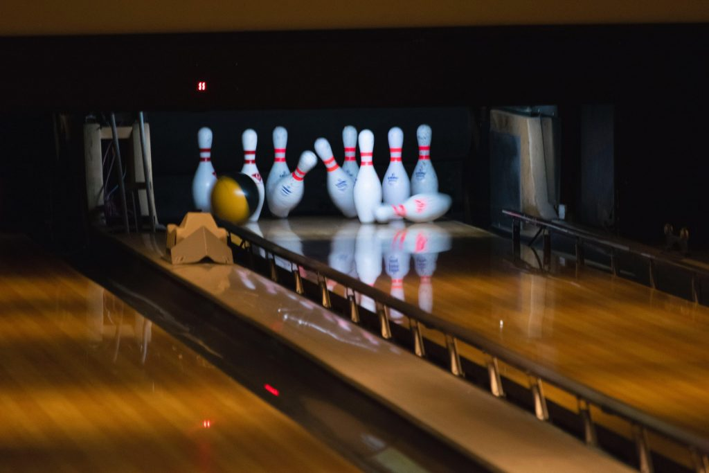 Bowling Alley strike