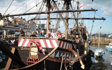 golden hind museum ship brixham