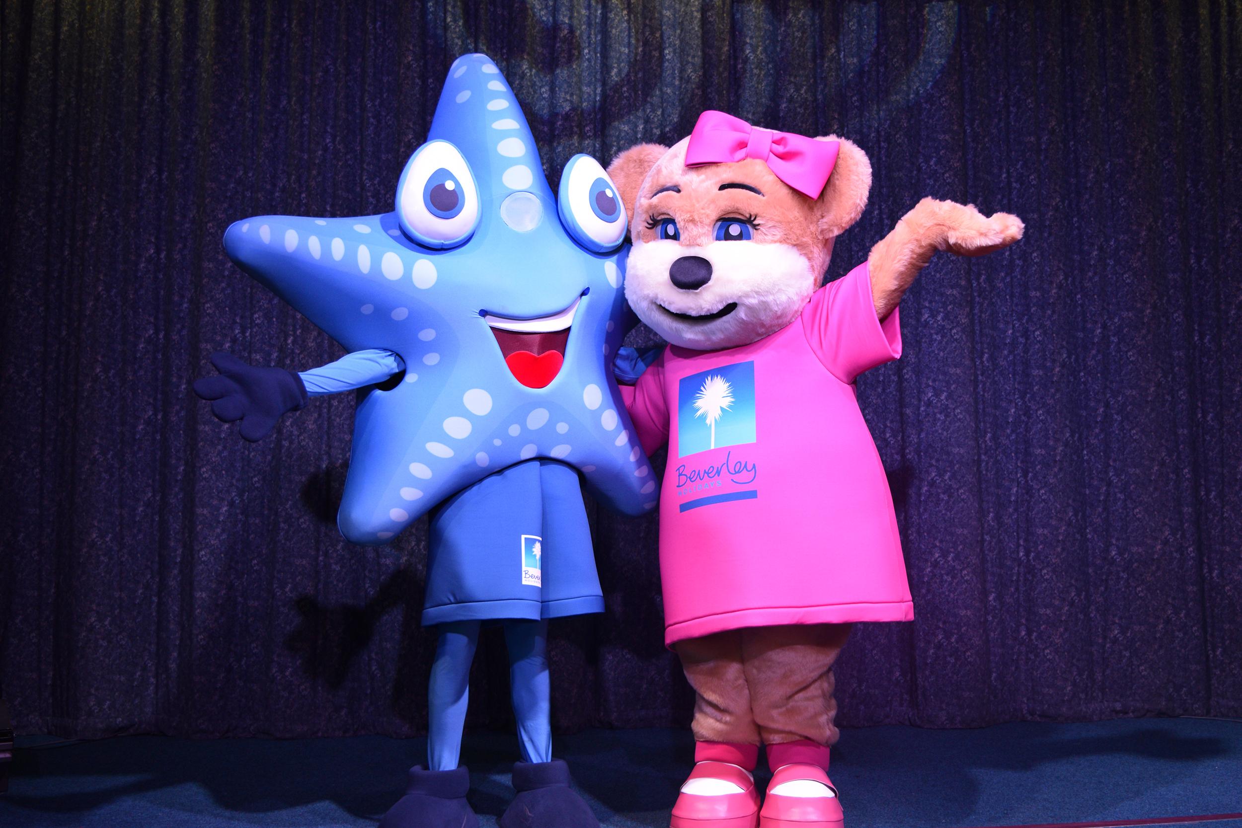 Sandy Starfish & Beverley Bear