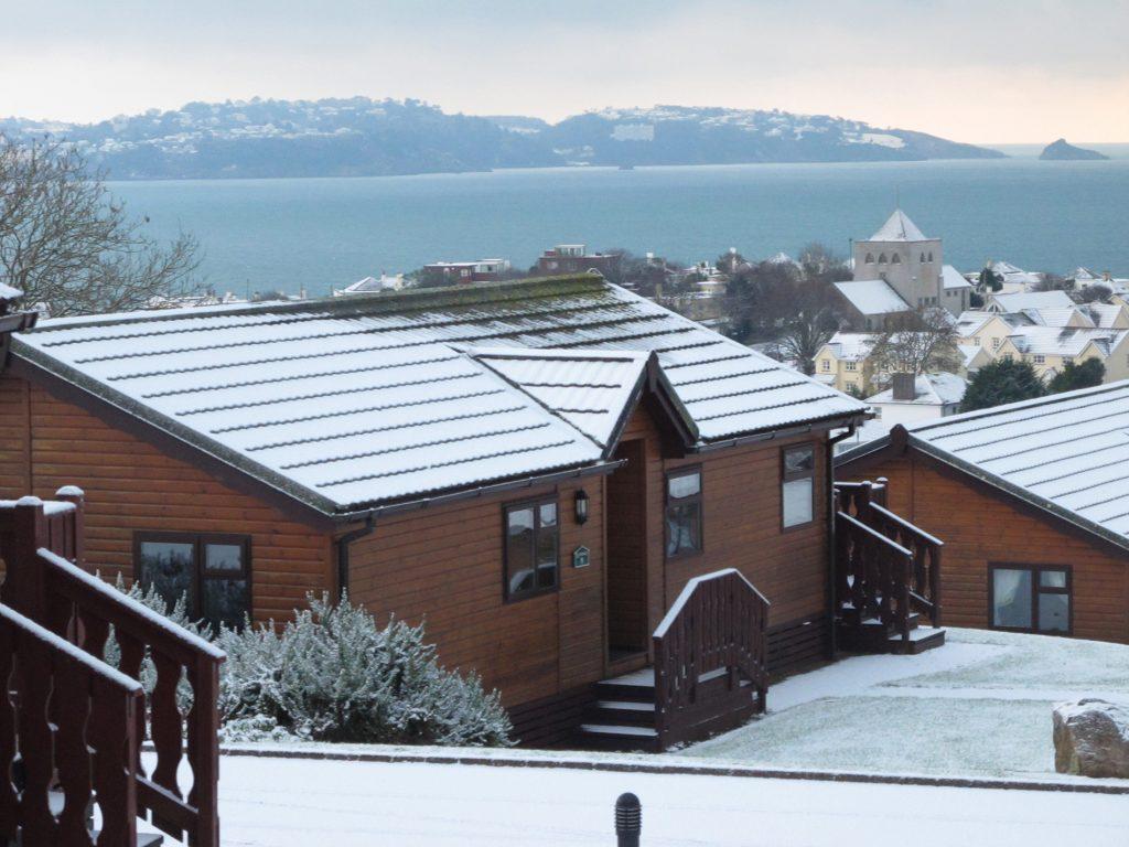 Winter breaks at Devon holiday parks.