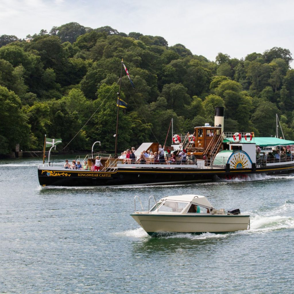 Dartmouth Paddle Steamer
