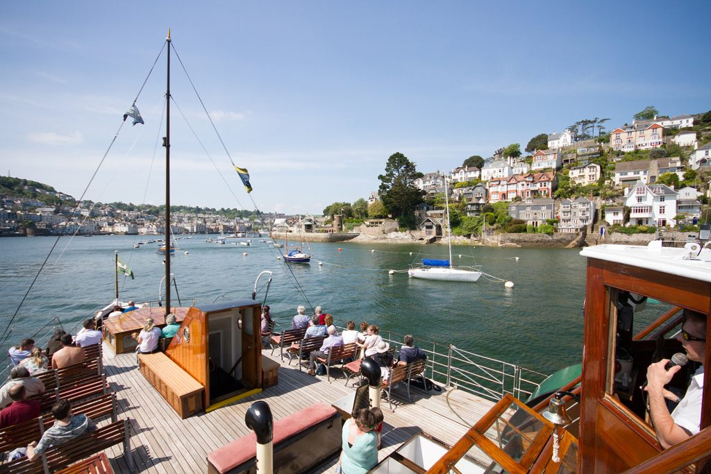 Dartmouth Paddle Steamer Kingswear Castle