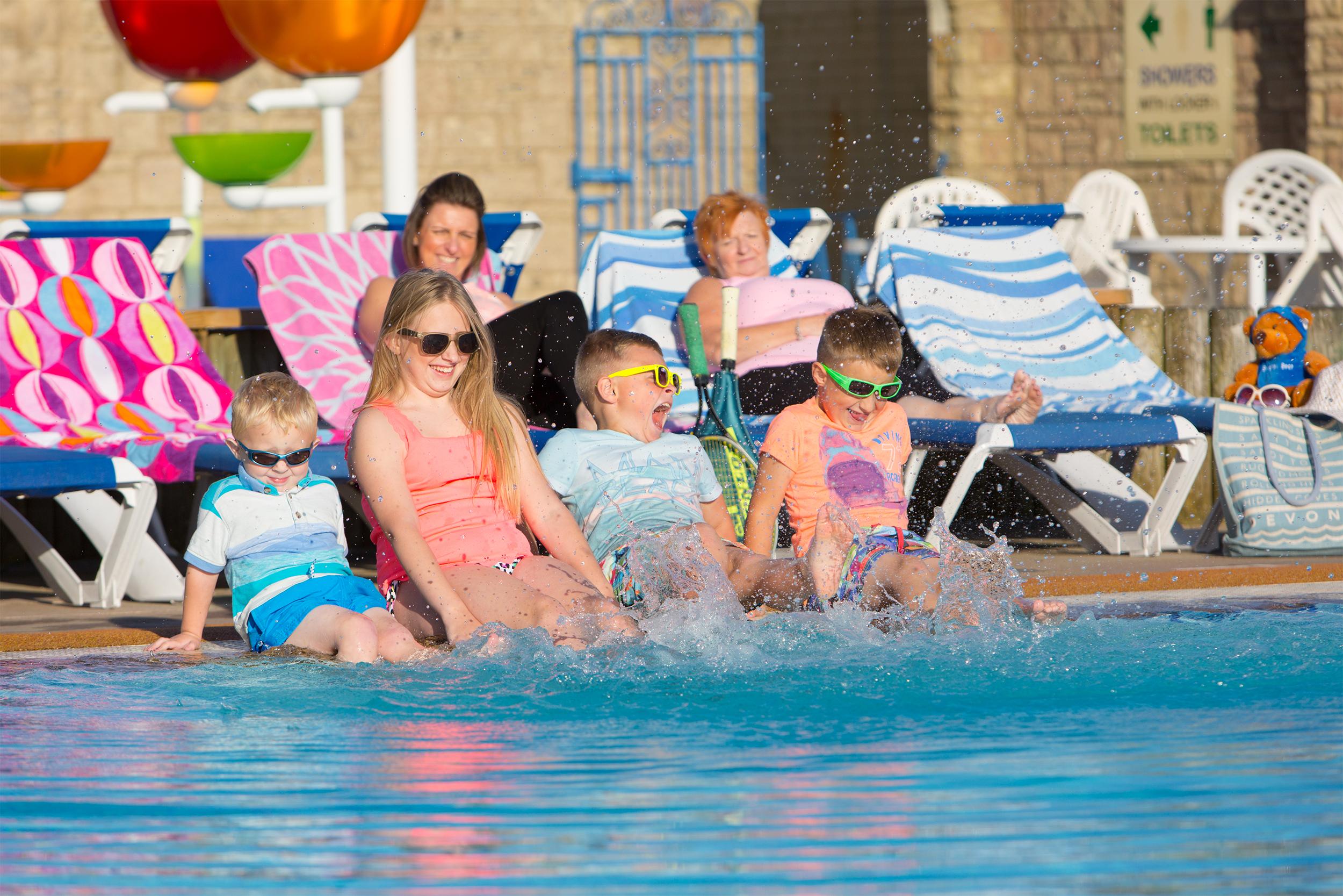 Heated Outdoor Pools