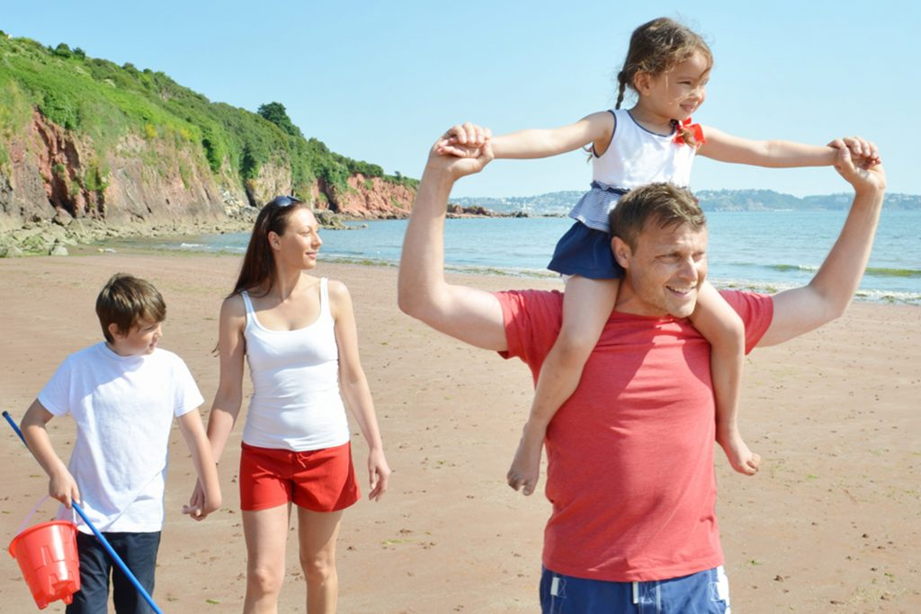 family-beach-holiday