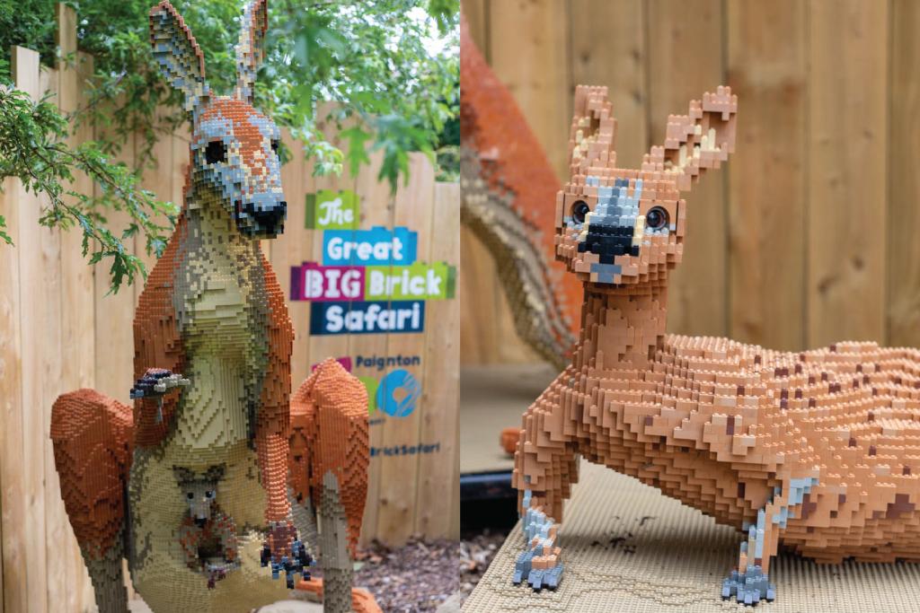 Lego kangaroos