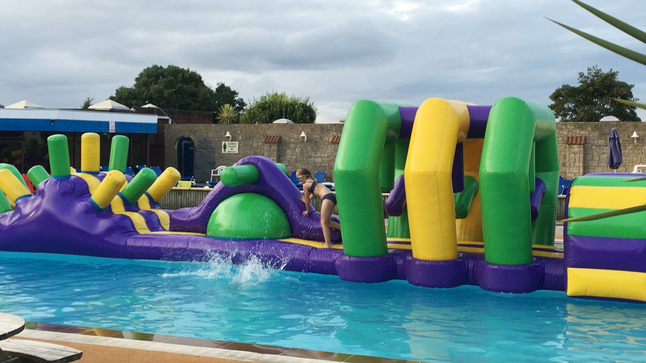 Giant Water Inflatable, Beverley Park